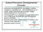 autism pervasive developmental disorder2