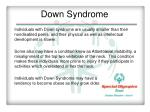 down syndrome2