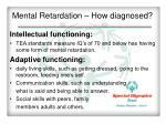 mental retardation how diagnosed1