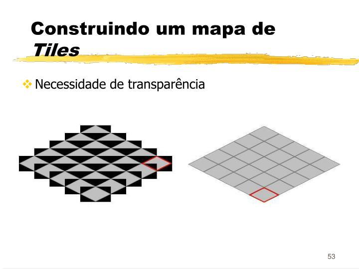 Construindo um mapa de