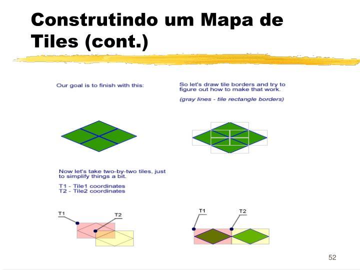 Construtindo um Mapa de Tiles (cont.)