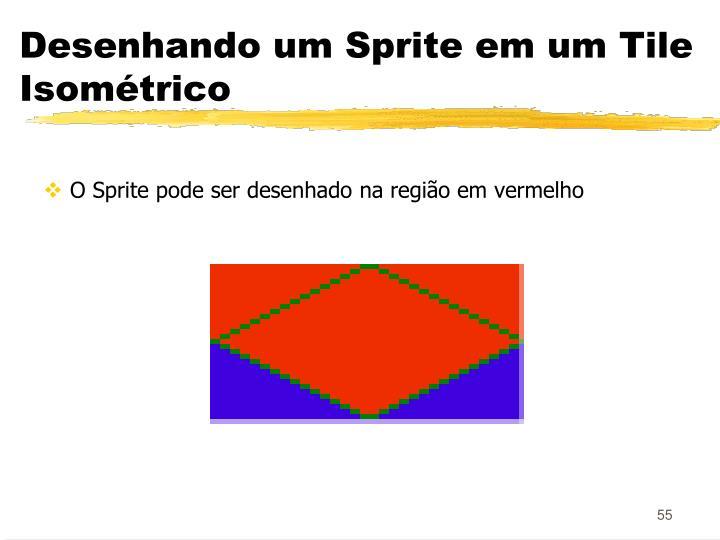 Desenhando um Sprite em um Tile Isométrico