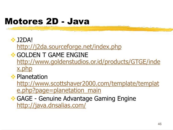 Motores 2D - Java