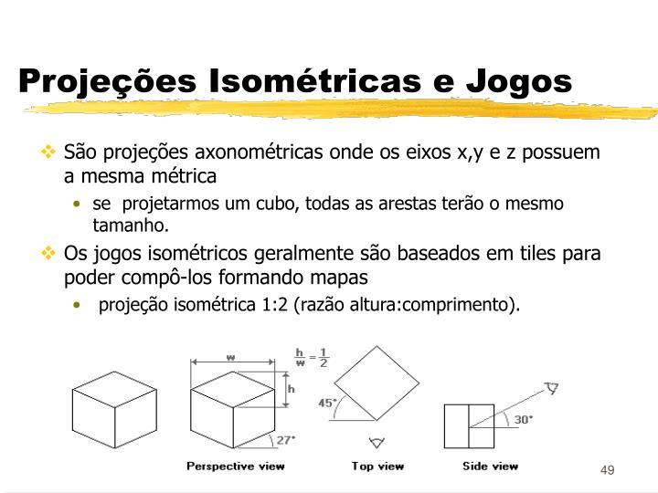 Projeções Isométricas e Jogos