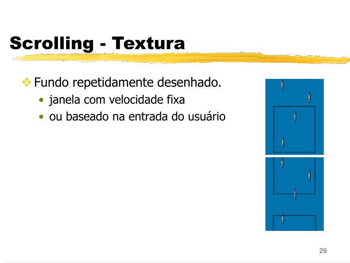 Scrolling - Textura