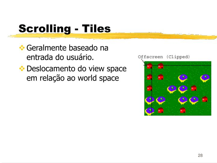 Scrolling - Tiles