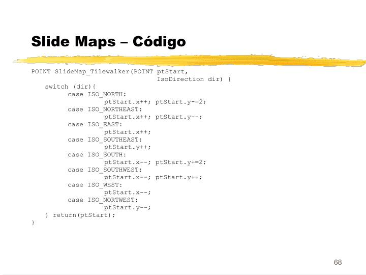 Slide Maps – Código