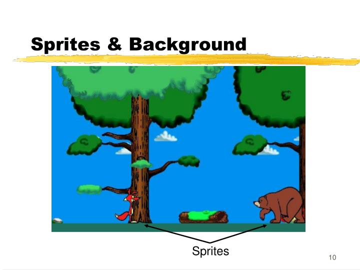 Sprites & Background