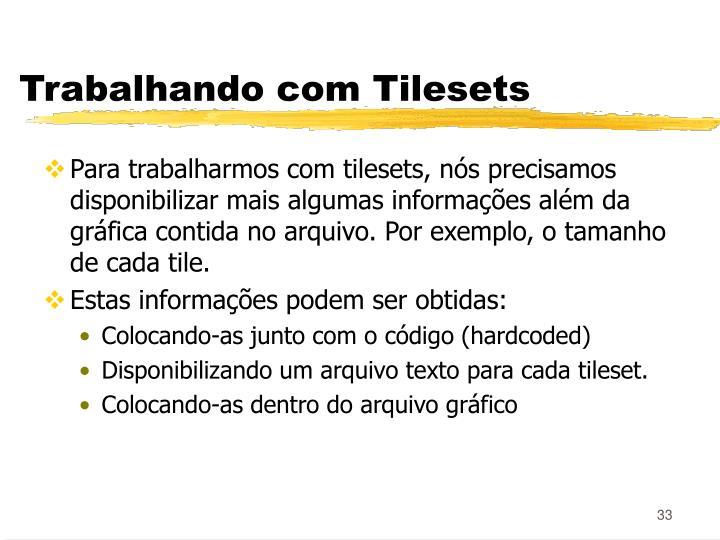 Trabalhando com Tilesets