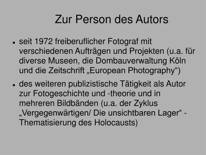 Zur person des autors1