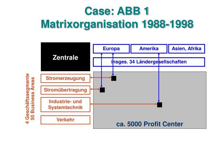 Case: ABB 1