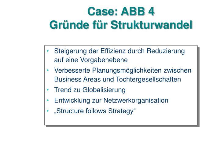 Case: ABB 4