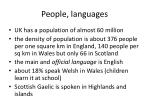 people languages