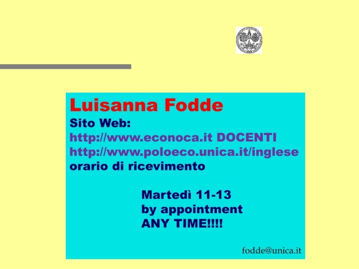 Luisanna