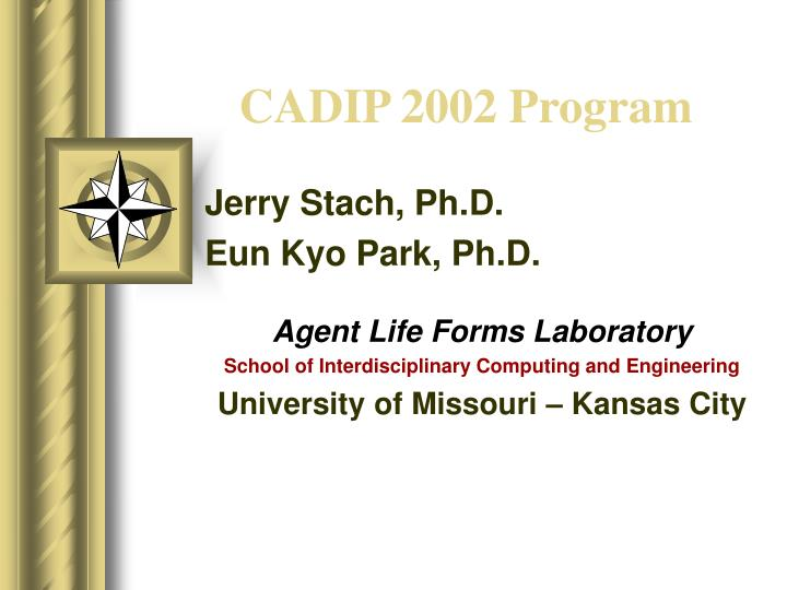 CADIP 2002 Program