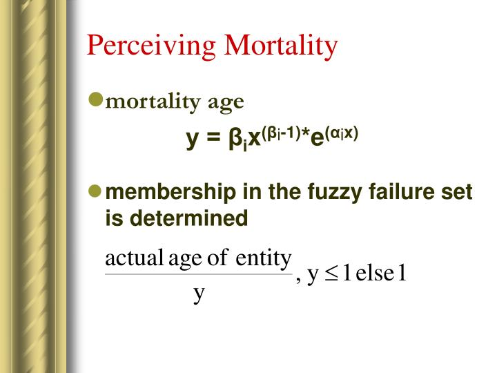 Perceiving Mortality