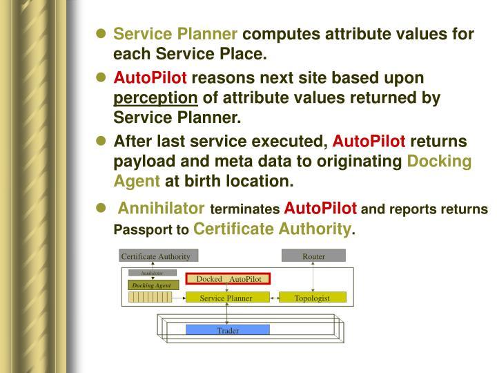 Service Planner
