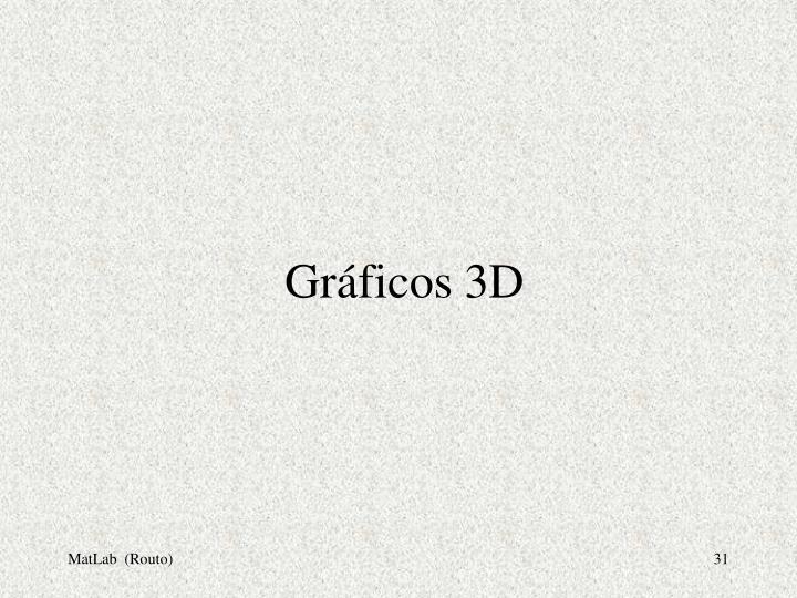 Gráficos 3D