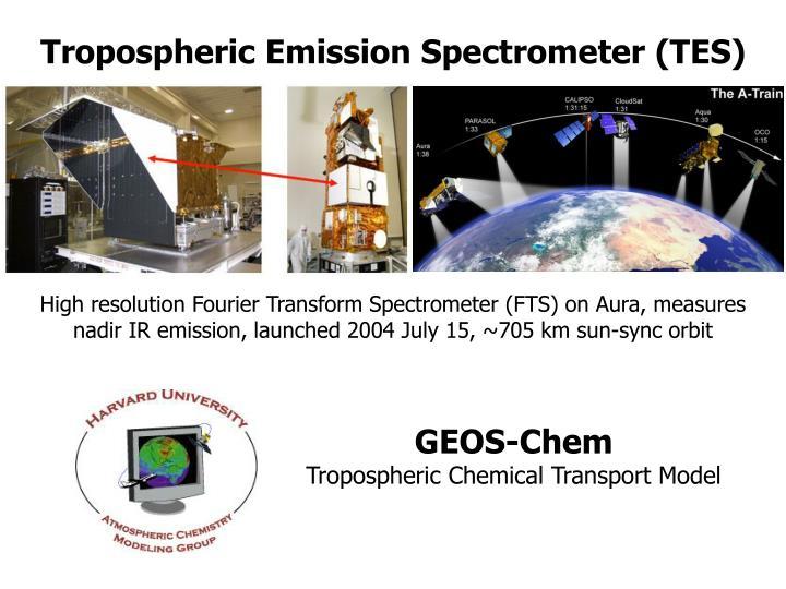 Tropospheric Emission Spectrometer (TES)