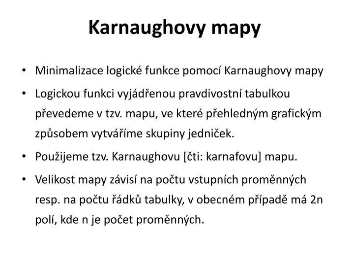 Karnaughovy mapy