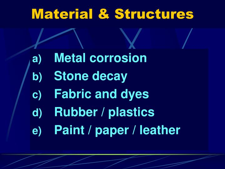 Material & Structures