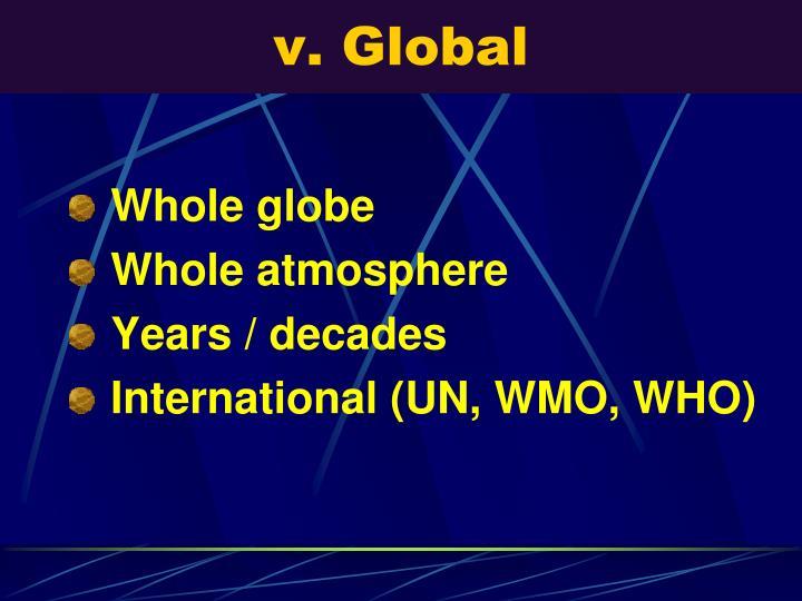 v. Global