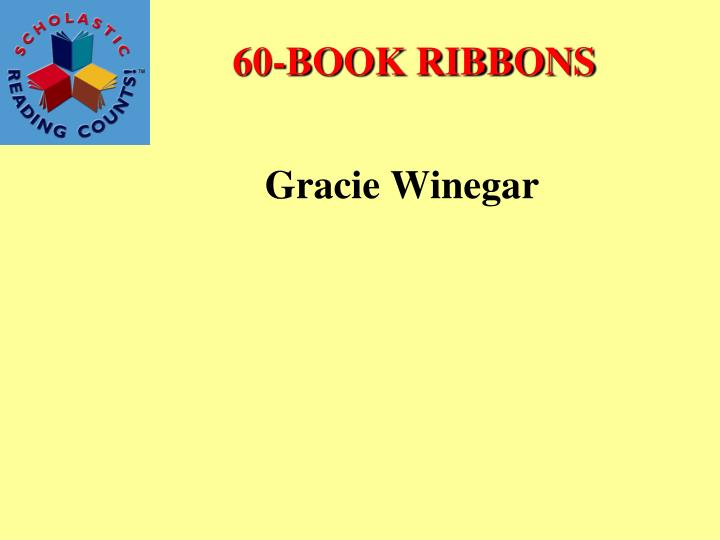 60-BOOK RIBBONS