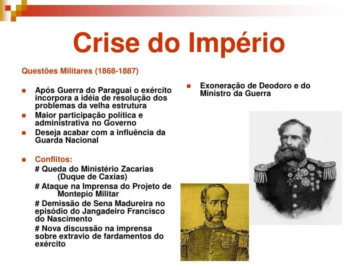 Questões Militares (1868-1887)