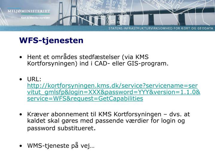 WFS-tjenesten