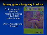 money goes a long way in africa1