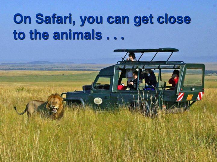 On Safari, you can get close