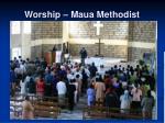worship maua methodist