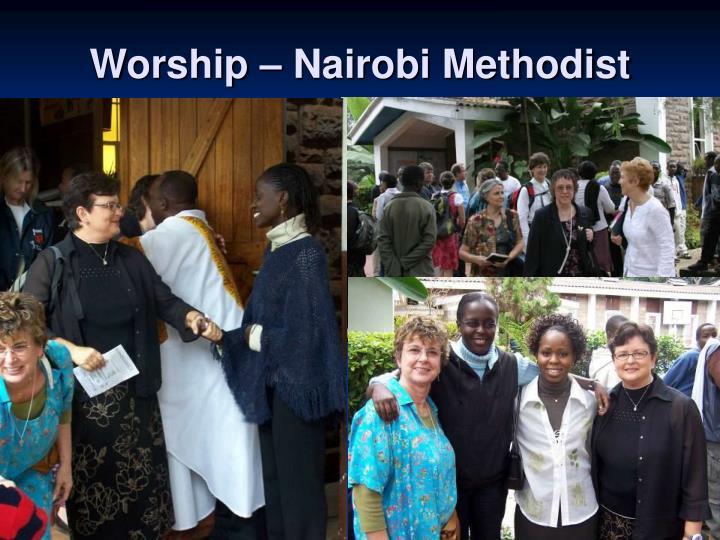 Worship – Nairobi Methodist