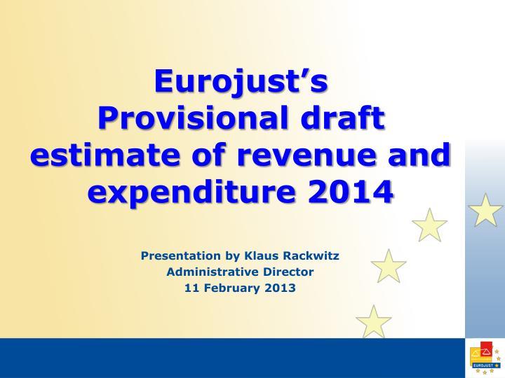 Eurojust's