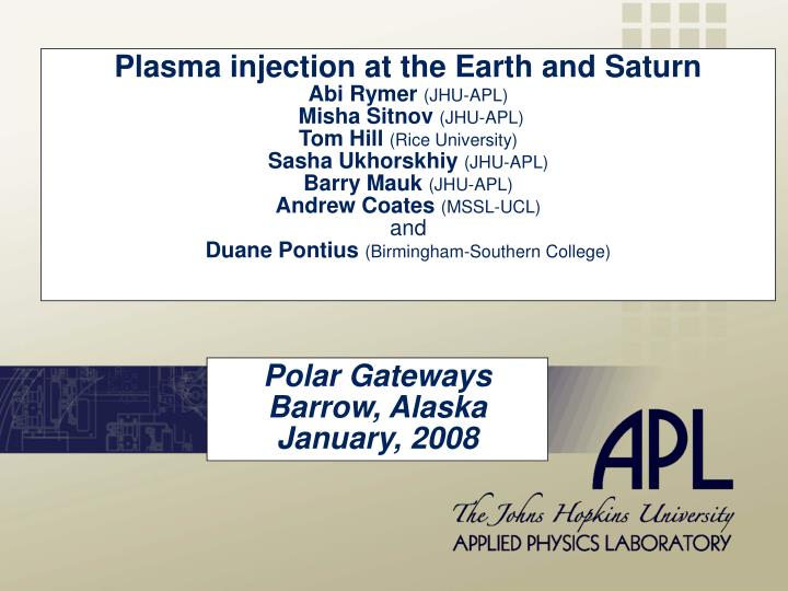 polar gateways barrow alaska january 2008