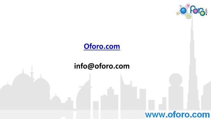 Oforo.com