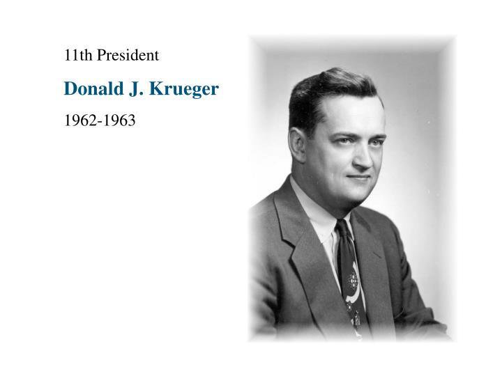 11th President