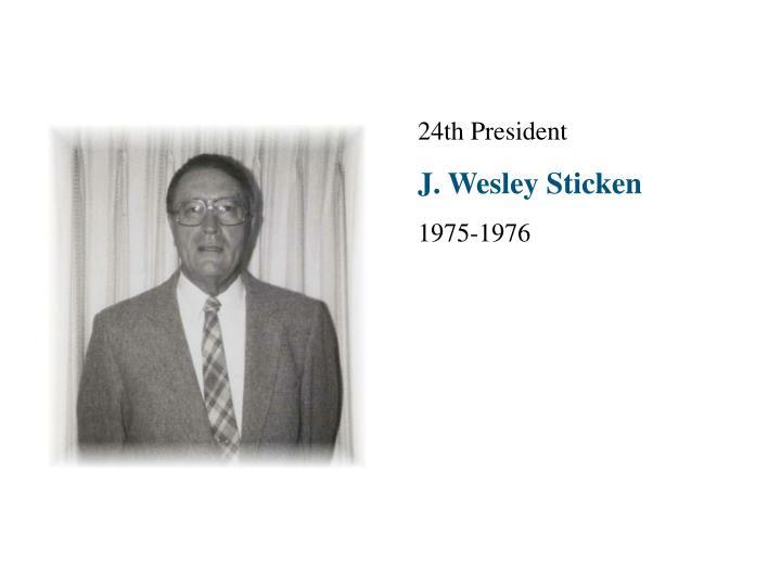 24th President