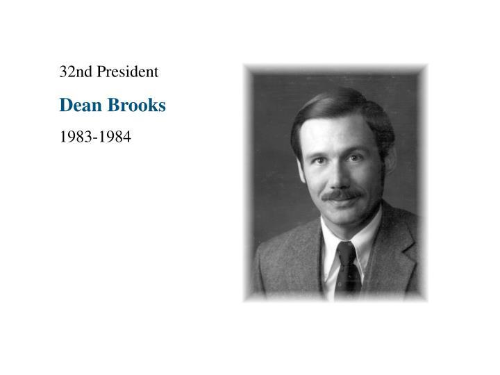 32nd President