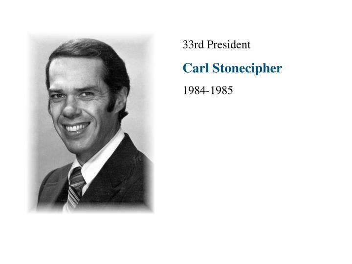 33rd President