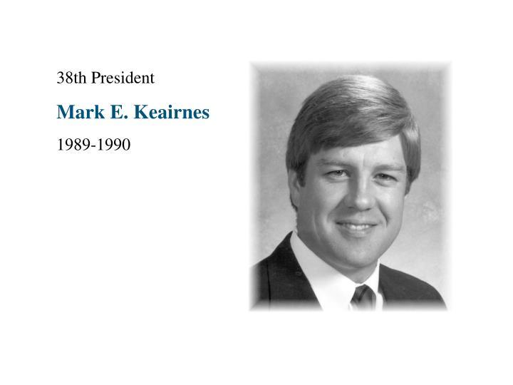 38th President