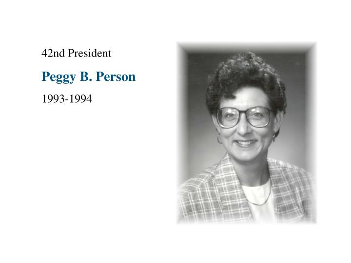 42nd President