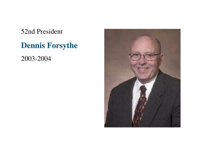 52nd President