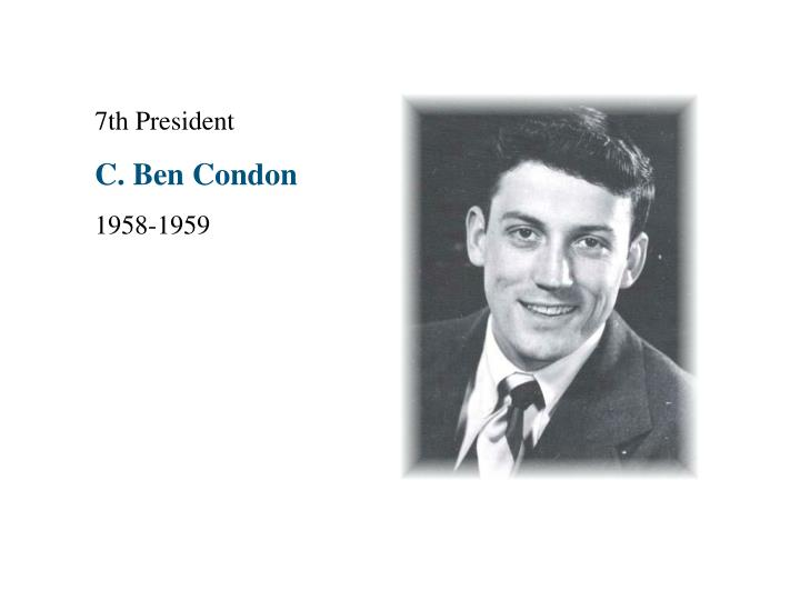 7th President