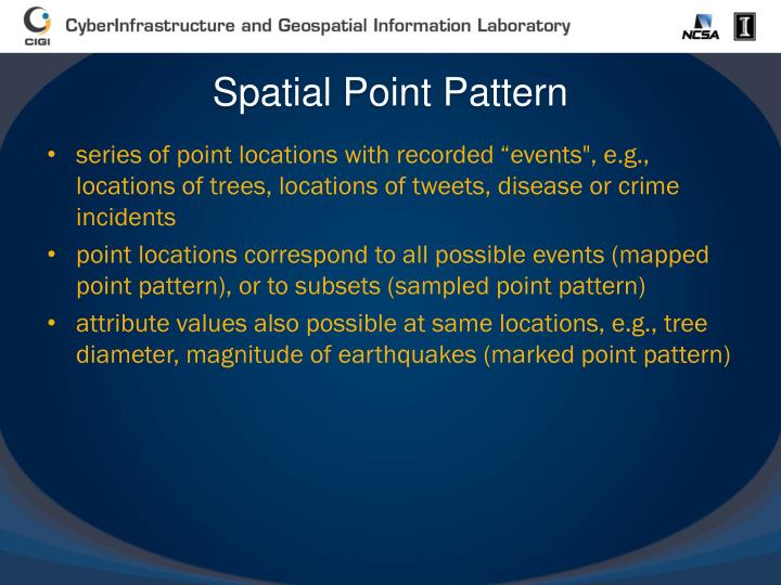 Spatial Point Pattern