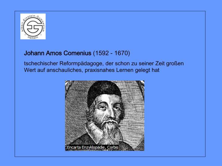 Johann Amos Comenius
