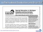 facts about graduation and drop out