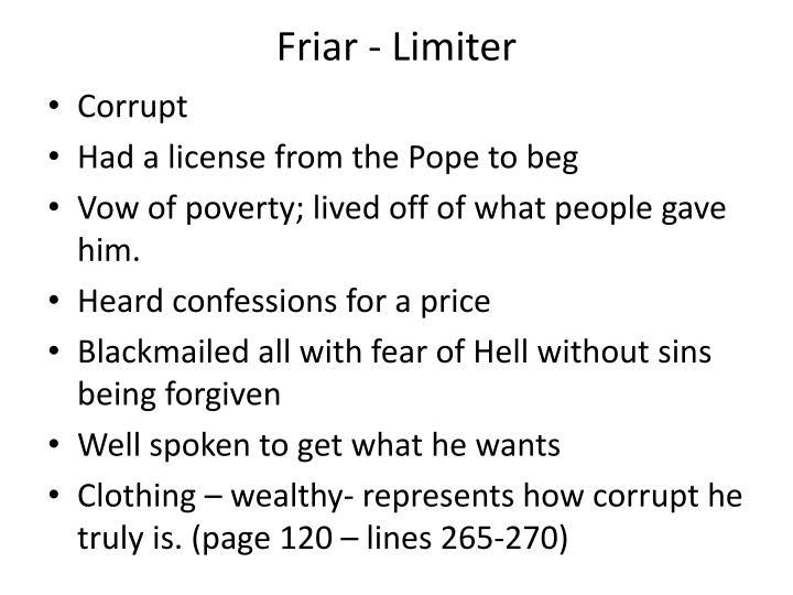 Friar - Limiter