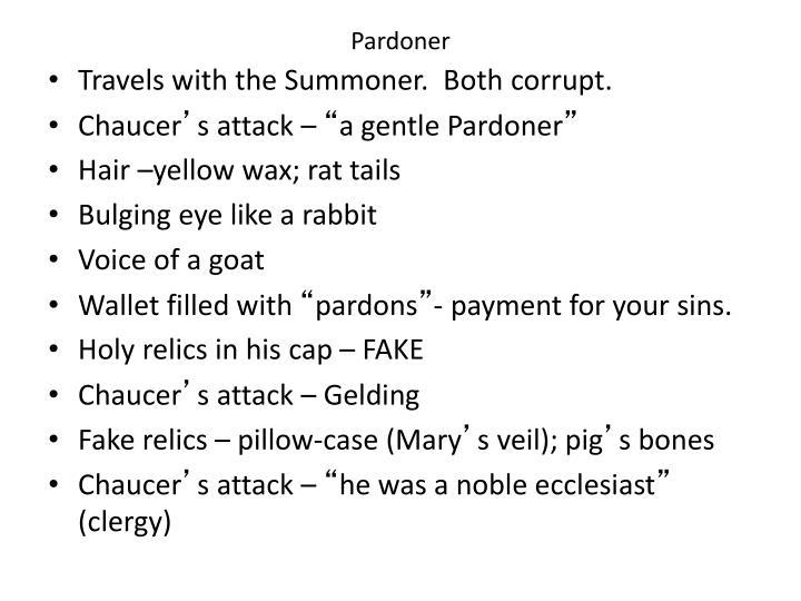Pardoner