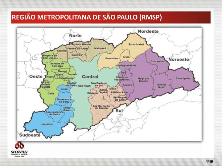 REGIÃO METROPOLITANA DE SÃO PAULO (RMSP)